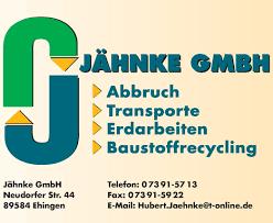 Logo von Jähnke GmbH